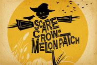 Scarecrow In A Melon Patch